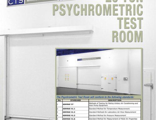 20 Ton Psychometric Test Room